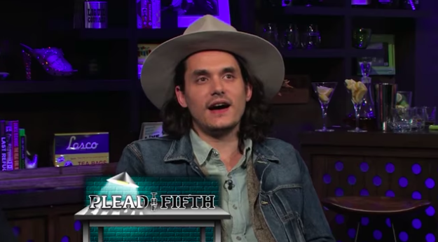 John Mayer said that if he was going to have sex with any man, he would choose Ryan Gosling.