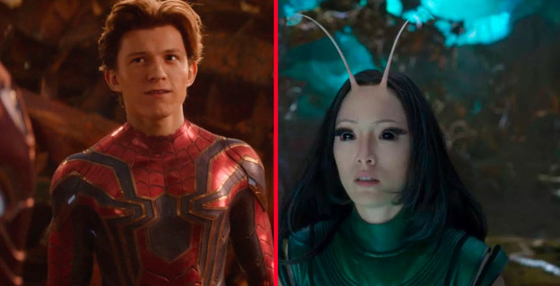 Peter Parker (who has Spidey-sense) and Mantis (who has empathy powers), both realized something was wrong before disintegrating. Peter says,