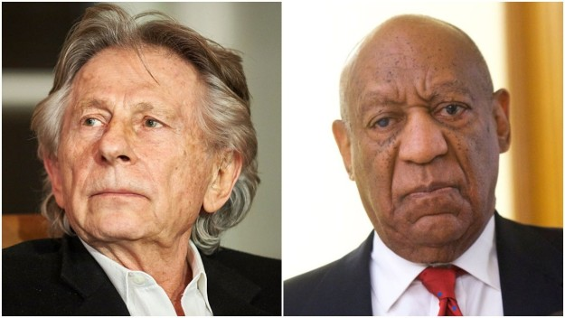 Comedian Bill Cosby and director Roman Polanski have been expelled from the Academy of Motion Picture Arts and Sciences for not being in accordance with the organization's standards of conduct.